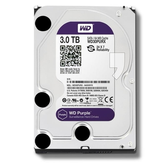"HDD WD3.5"" 3TB 7200 SATAIII 64MB PURPLE"