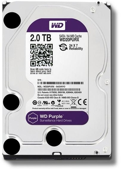 "HDD WD3.5"" 2TB 7200 SATAIII 64MB PURPLE"