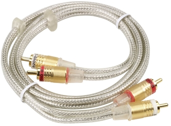 Kabel 2xRCA  1,0m GOLD HQ KHC001M